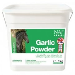 NAF (Natural Animal Feeds) Garlic Powder Horse Supplement 1kg