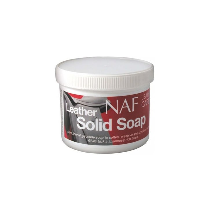 NAF (Natural Animal Feeds) Horse Leather Solid Soap 250g