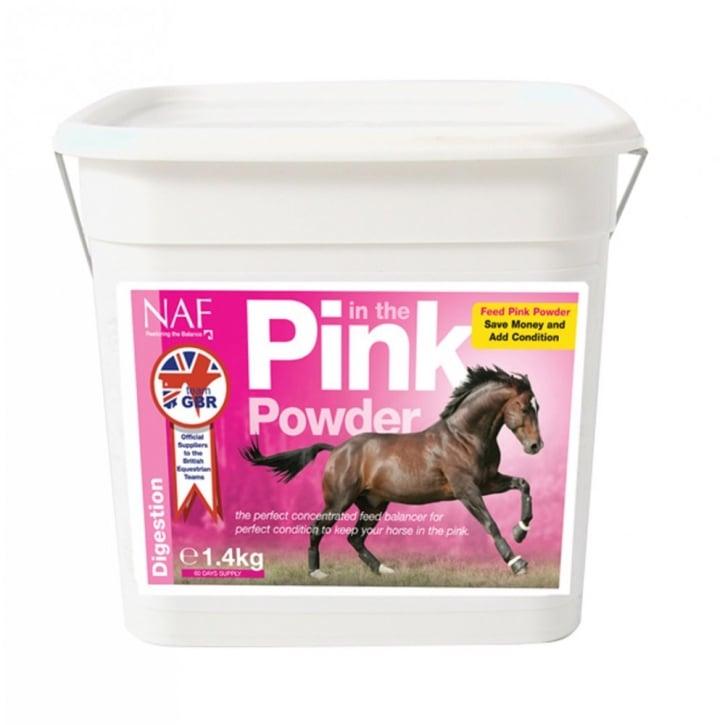 NAF (Natural Animal Feeds) Pink Powder Horse Supplement 2.8kg