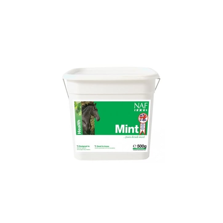 NAF (Natural Animal Feeds) Pure Dried Mint Horse Supplement 500g