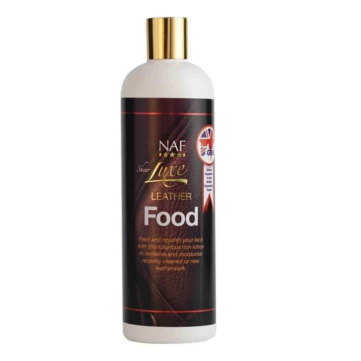 NAF (Natural Animal Feeds) Sheer Luxe Leather Food 500ml