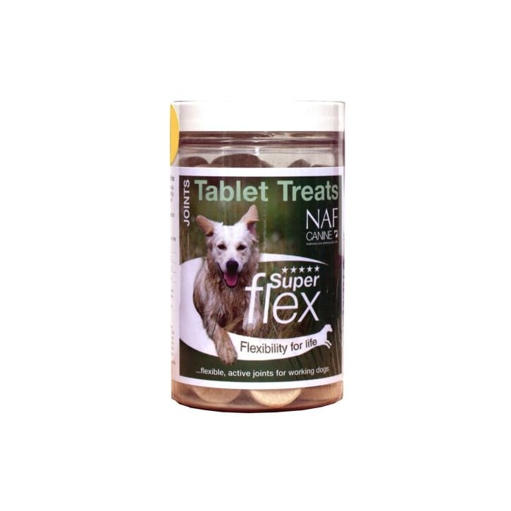 NAF (Natural Animal Feeds) Superflex Dog Joint Treats Tablets 90 Pack
