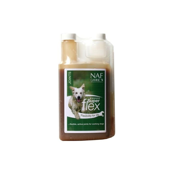 NAF (Natural Animal Feeds) Superflex Joint Liquid For Dogs 1ltr
