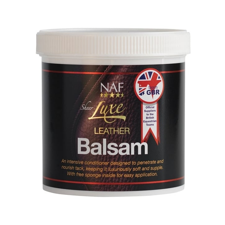 NAF (Natural Animal Feeds) Sheer Luxe Horse Leather Balsam 400g