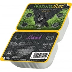 Naturediet Grain Free Lamb 280g Twin Pack