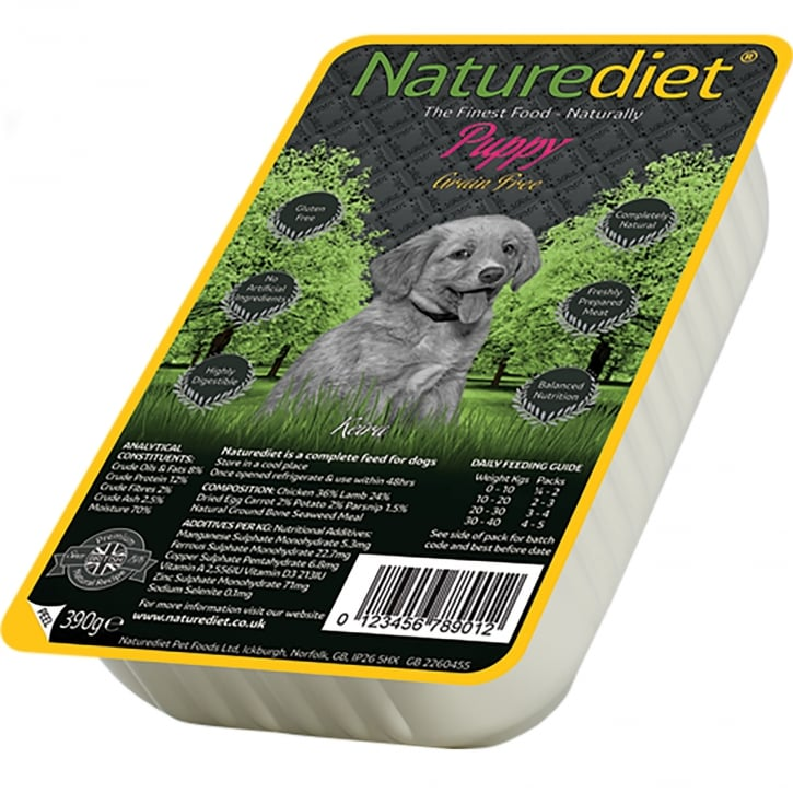 Naturediet Grain Free Puppy 390g