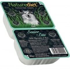 Naturediet Senior / Lite With Vegetables & Rice 280g Twin Pack