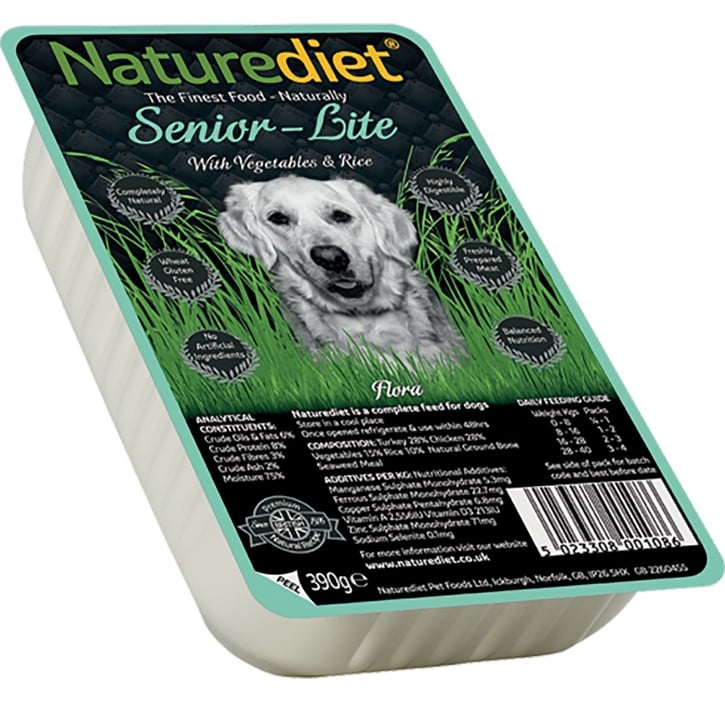 Naturediet Senior - Lite With Vegetables & Rice 390g