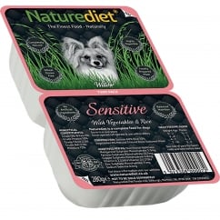 Naturediet Sensitive With Vegetables & Rice 280g Twin Pack