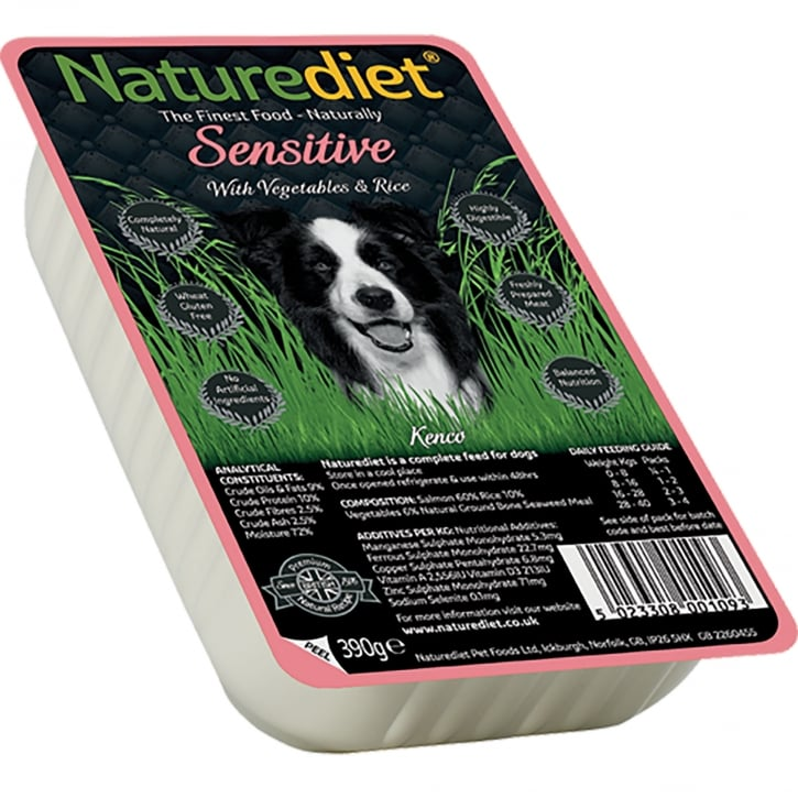 Naturediet Sensitive With Vegetables & Rice 390g