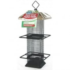 Natures Feast Royal Tower Peanut Feeder
