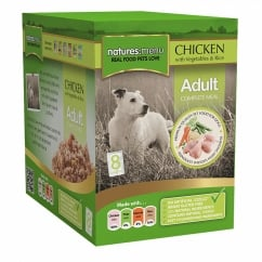 Adult Chicken with Vegetables & Rice Pouch For Dogs 8 x 300g