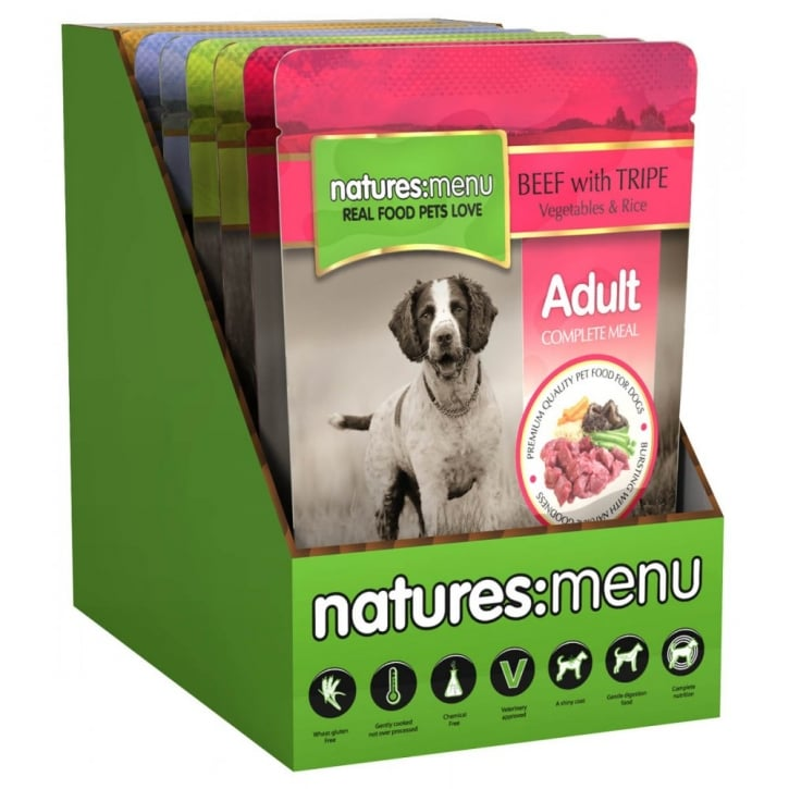 Natures Menu Multipack Complete Pouches For Dogs 8 x 300g