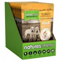 Natures Menu Adult Dog Complete Food - Turkey & Chicken 8x300gm