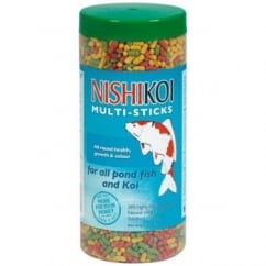 Nishikoi Pond Multi-sticks Fish Food - 205gms