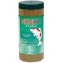 Nishikoi Staple Pond Fish Food - Small Pellet - 350gm.