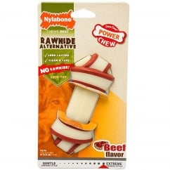 Alternative Rawhide Knot Chew Bone Beef - Medium