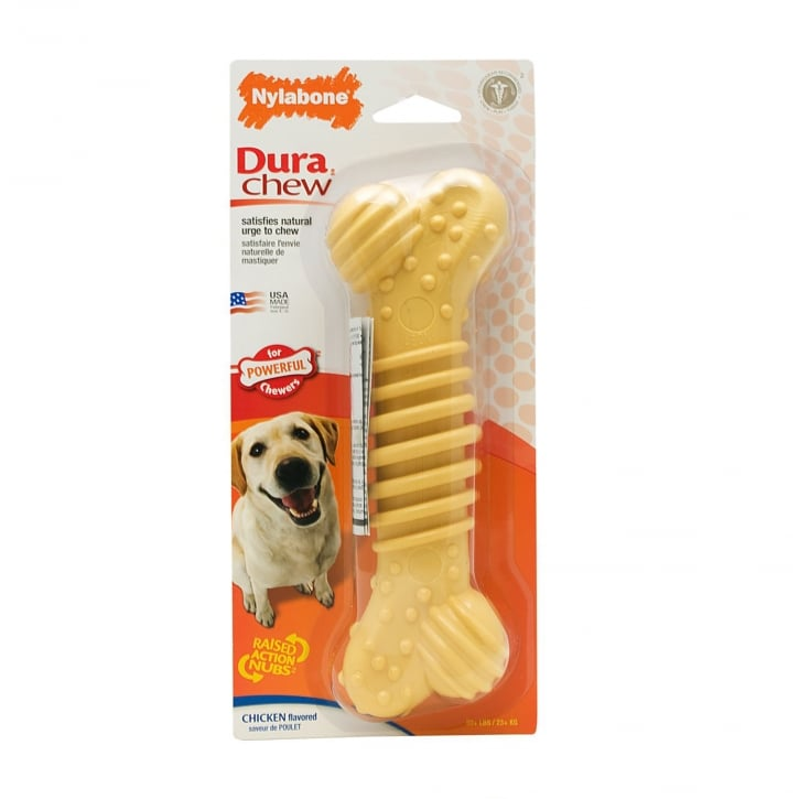Nylabone Chicken Dura Chew PLUS Bone - X Large