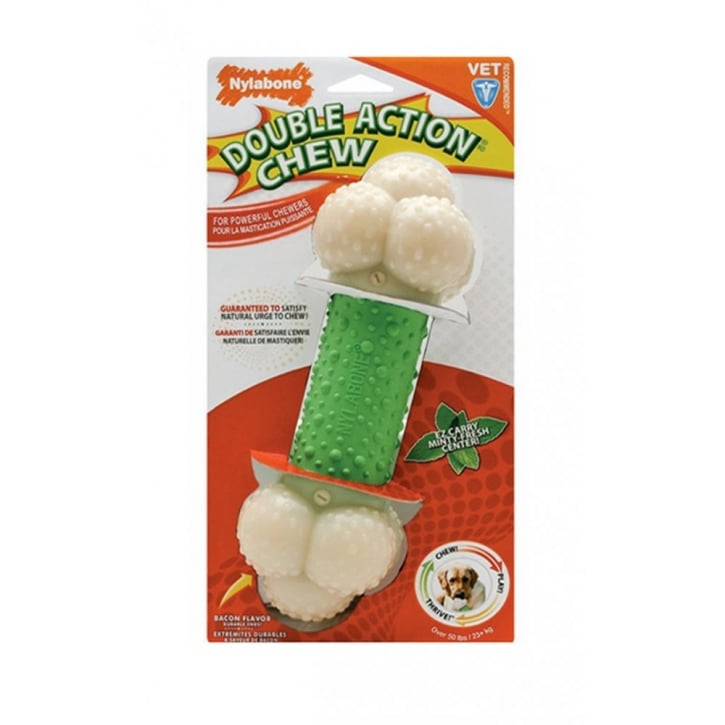 Nylabone Double Action Chew Bone - Souper