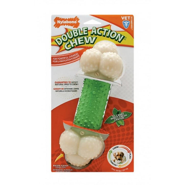 Nylabone Double Action Chew Bone - Wolf