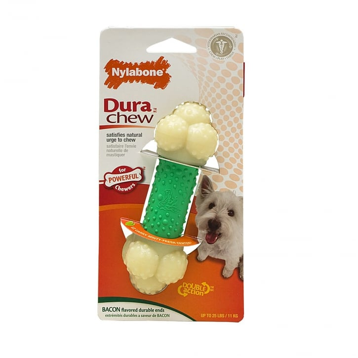 Nylabone Dura Chew Double Action Chew Bone - Small