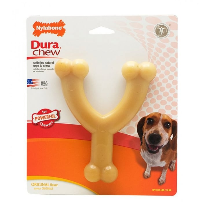 Nylabone Durable Original Wishbone - Wolf