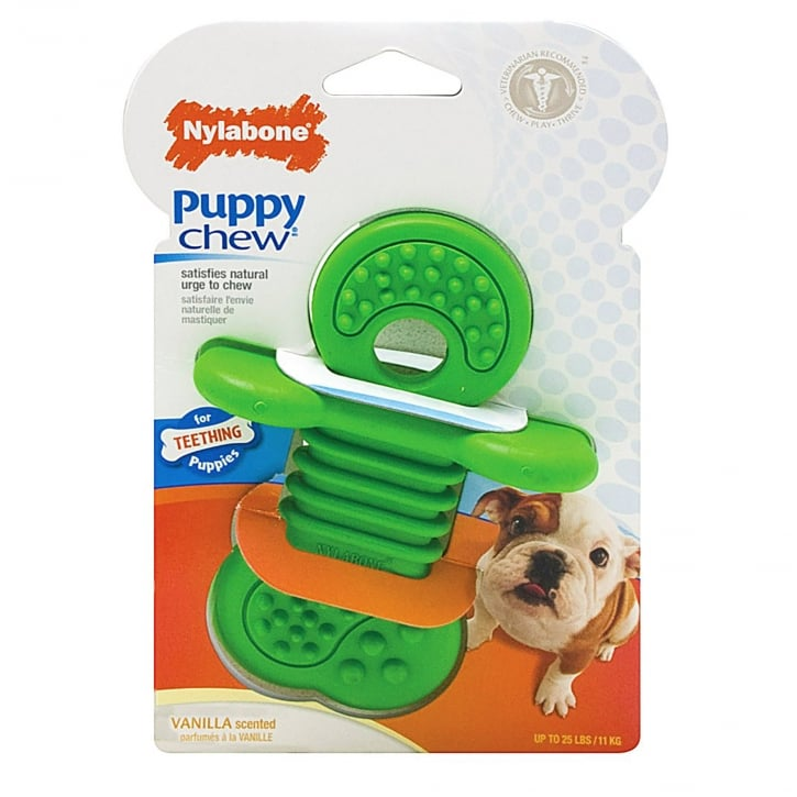 Nylabone Puppy Chew Rhino Teether - Medium