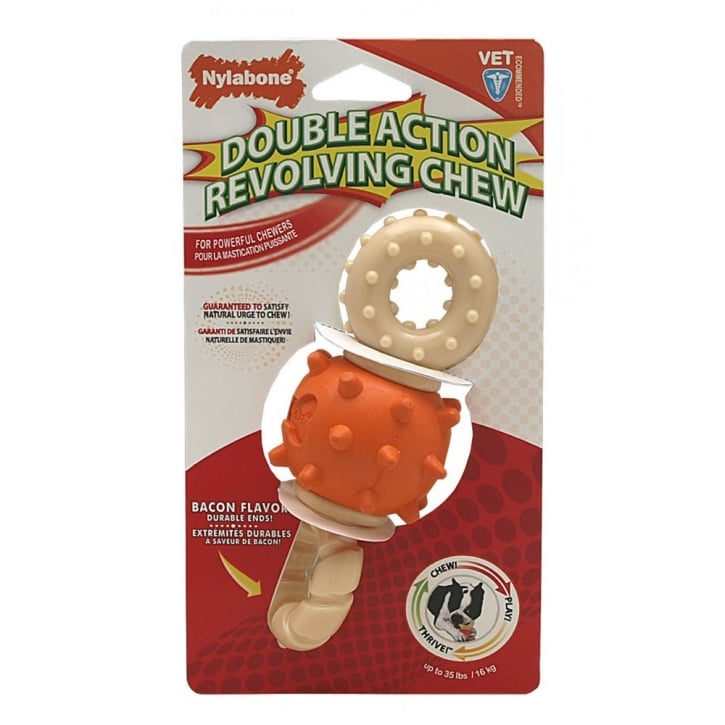 Nylabone Spinning Double Action Chew Wolf