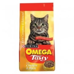 Omega Tasty Cat Food with Chicken and Duck 10kg
