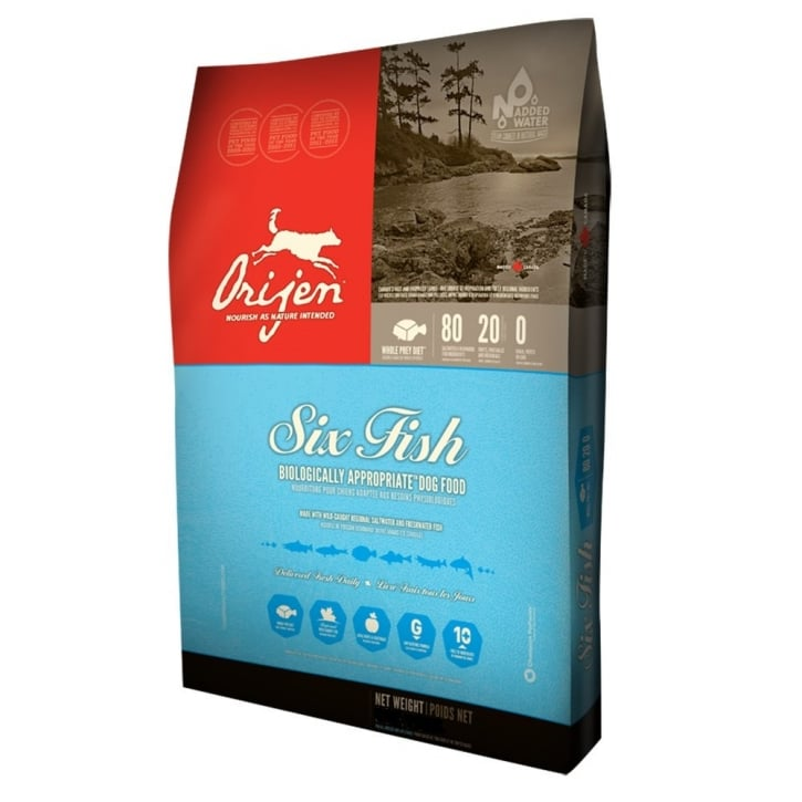 Orijen Adult Six Fish Grain Free Dog Food 13kg