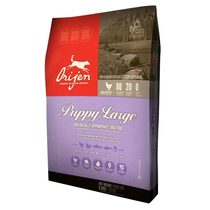 Orijen Puppy Large Breed Grain Free Puppy Food 6.8kg