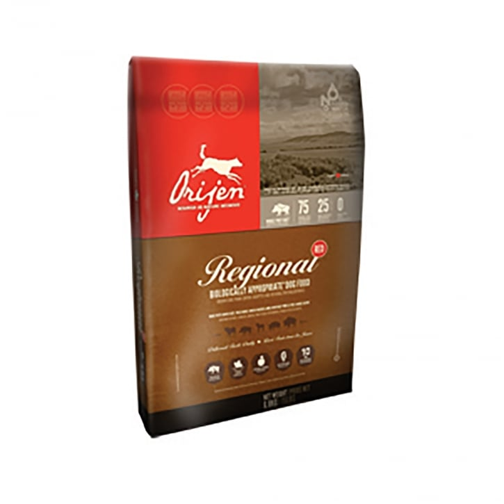 Orijen Regional Red Adult Grain Free Dog Food 13kg