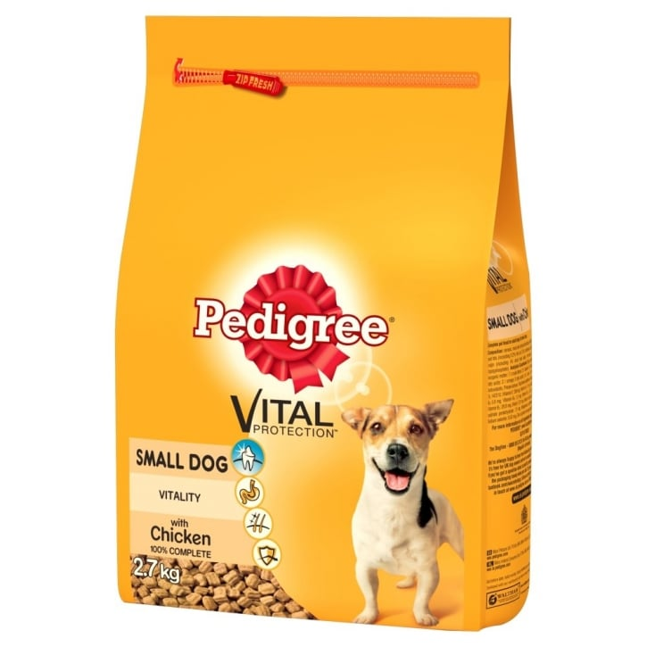 Pedigree Complete Adult Small Breed Dog Food- Chicken & Veg 2.7kg