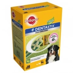 Daily Dentastix Fresh 28 Sticks for Large Dogs 25kg+