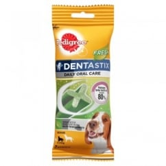 Pedigree Daily Dentastix Fresh 7 Sticks for Medium Dogs 10 to 25kg
