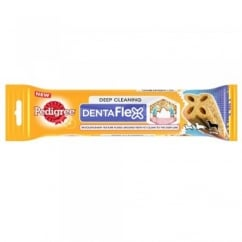Dentaflex Deep Cleaning Dog Treat 25kg+ 120gm