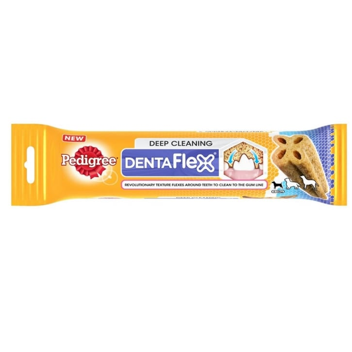 Pedigree Dentaflex Deep Cleaning Dog Treat Small 6 to 10kg 40gm