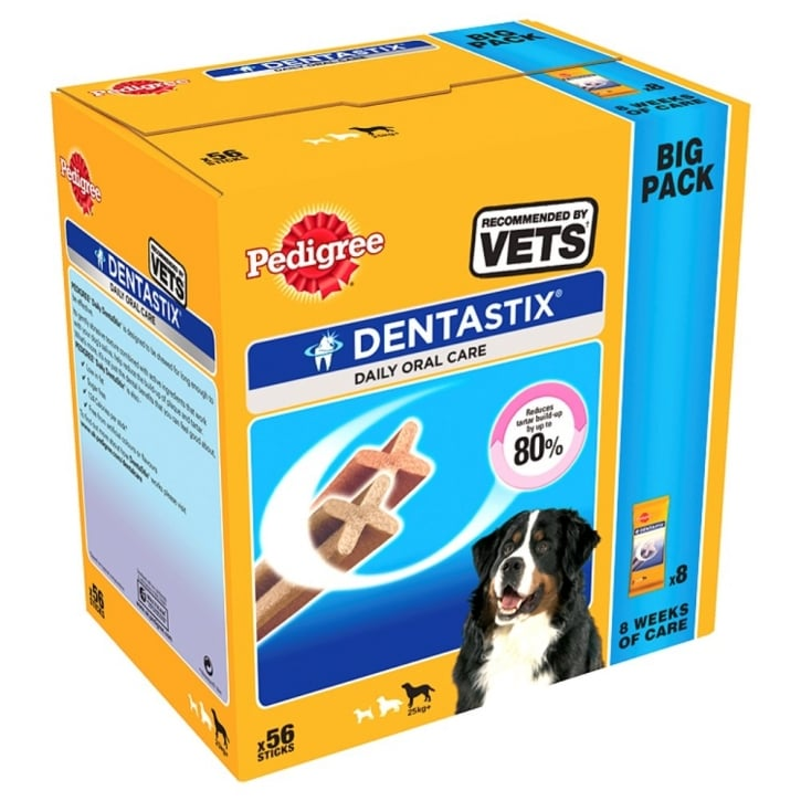 Pedigree Dentastix Dental Dog Treat - Large 56 Stick Pack