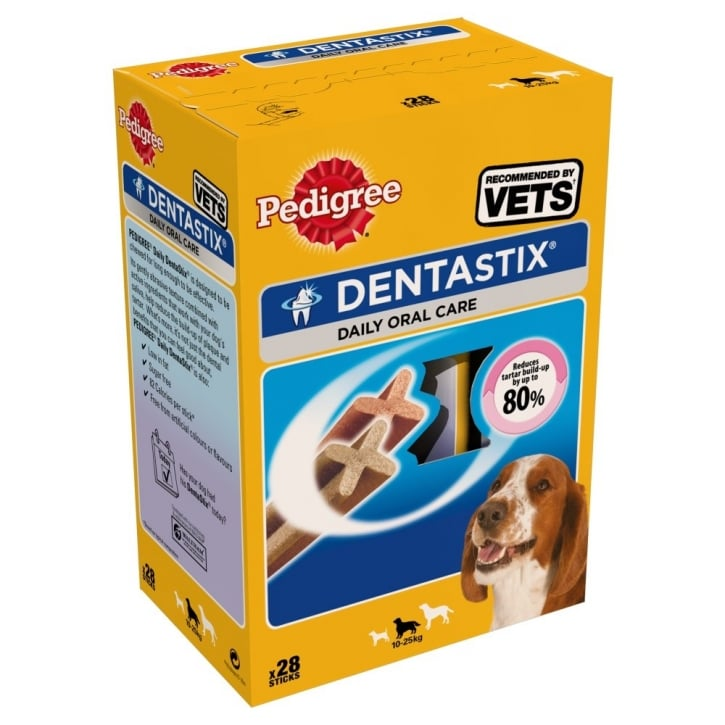 Pedigree Dentastix Dental Dog Treat - Medium 28 Stick Pack