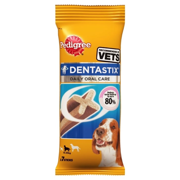 Pedigree Dentastix Dental Dog Treat - Medium 7 Stick Pack