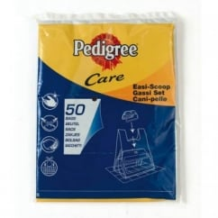 Pedigree Easi Scoop 50 Pack Refill Bags