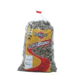 Pedigree Gravy Bones Dog Biscuit Treat - Original Flavour - Loose 1kg
