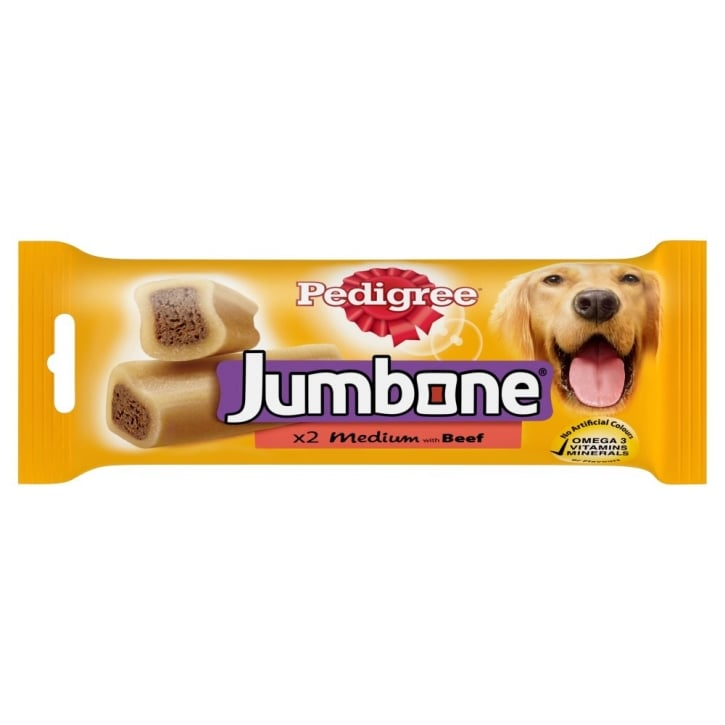Pedigree Jumbone Beef 2 Piece Medium Dogs