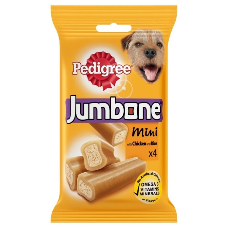 Pedigree Jumbone Mini with Chicken and Rice 4 Chews 180gm