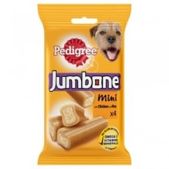 Jumbone Mini with Chicken and Rice 4 Chews 180gm