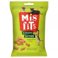 Misfits Scruffy Bites 180gm