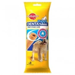 Pedigree Puppy Dog Denta Tubos Treats 3 Pieces