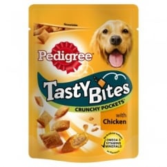 Pedigree Tasty Bites Crunchy Pockets with Chicken Dog Treat 95gm