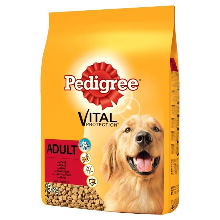 Pedigree Vital Protection Dry Adult with Beef 15kg