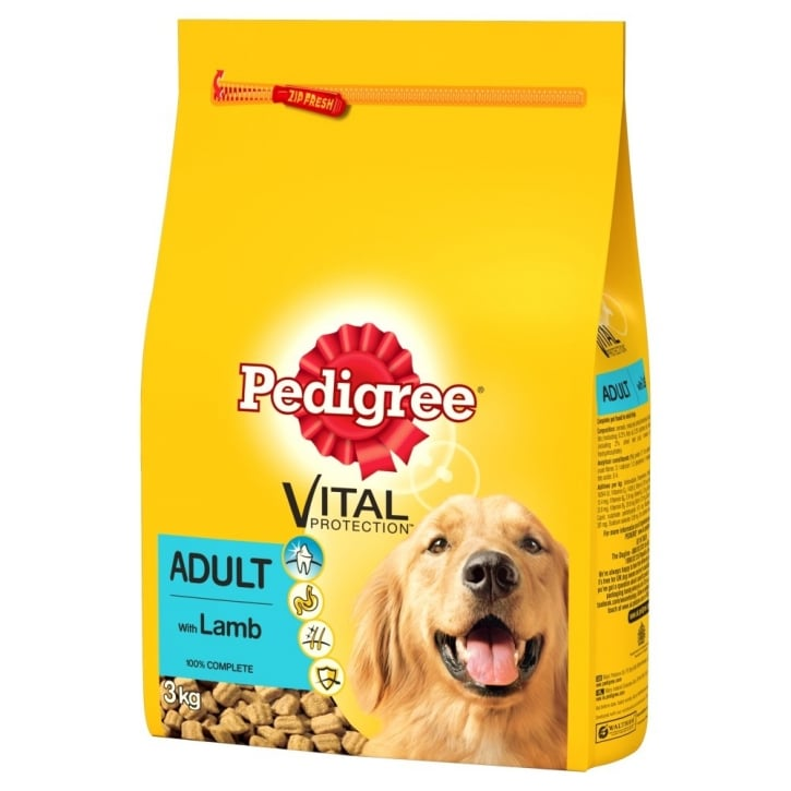 Pedigree Vital Protection Dry Adult with Lamb 3kg